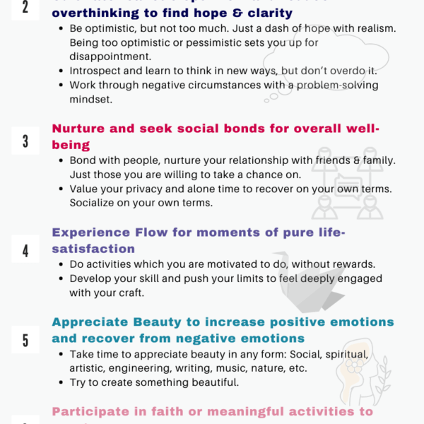 How to be happy: The science of creating a happy life w/ better well-being