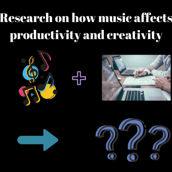 How does background music affect work productivity and creativity? 10 research findings