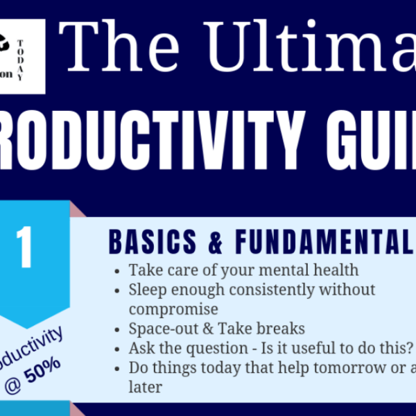 How to Increase Productivity: The Ultimate Psychological guide
