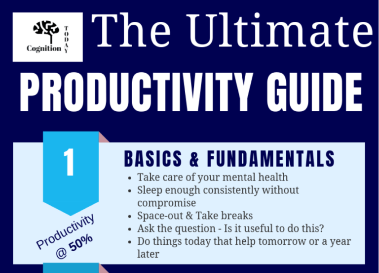 The ultimate guide on how to get better at work and increase productivity