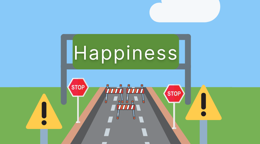 Chasing happiness can make you unhappy