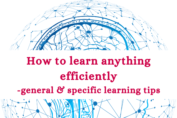 how to learn efficiently