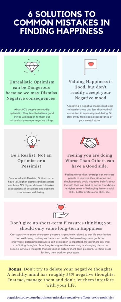 6 ways to avoid the negative side of happiness and toxic positivity