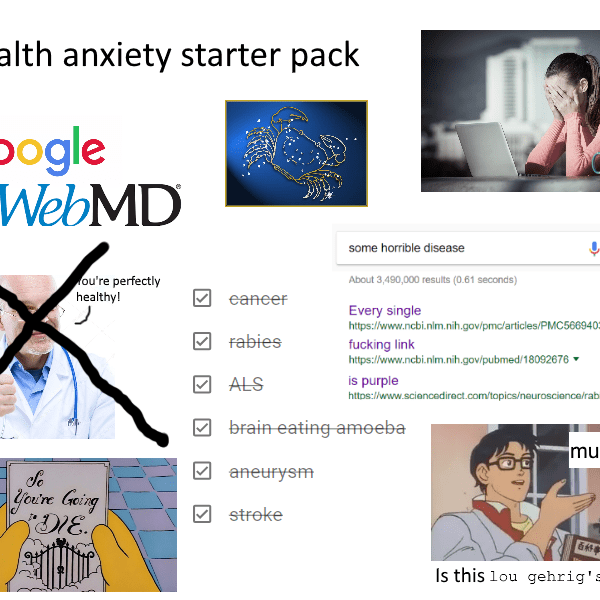 Cyberchondria: Health Anxiety by Googling Symptoms