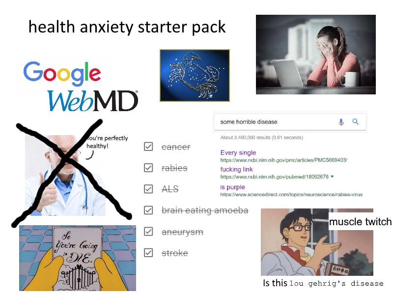 health anxiety and cyberchondria